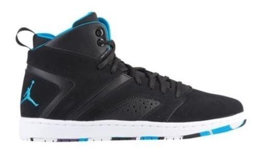 Zapatillas Jordan Flight Legend Black Azul Acero