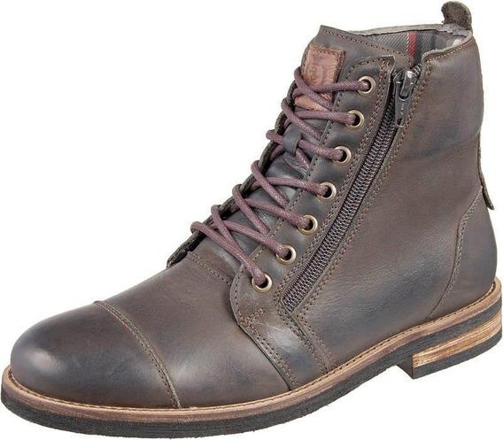 Bota Coturno Masculino Urbano Tamanho Especial Shoes Grand