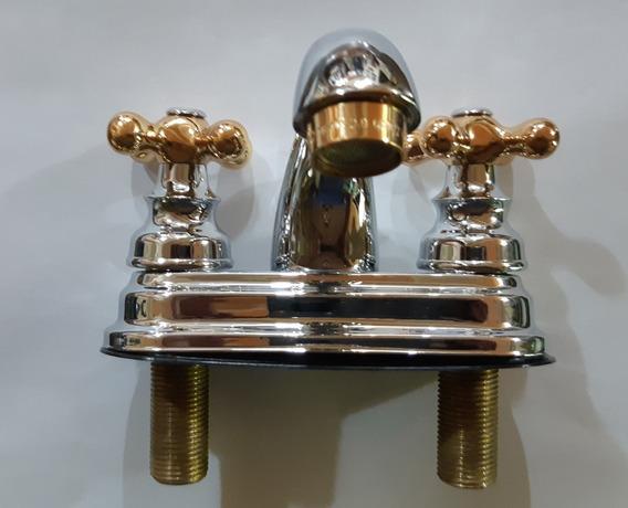 Mezcladora Monomando Metalflu Para Lavabo De Lujo 05657