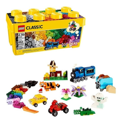 Lego 10696 Classic, Lego Clásico - 484 Piezas