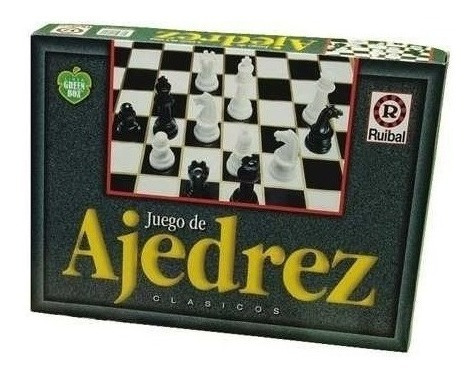 Juego De Mesa Ajedrez Clasico Linea Green Box Ruibal