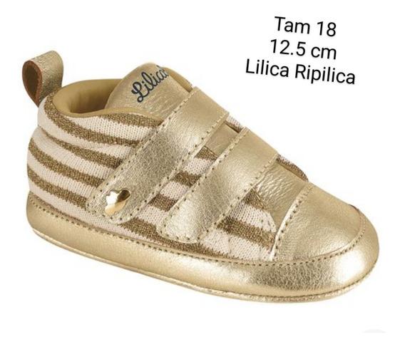 Tênis Dourado Lilica Ripilica