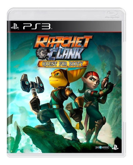 Ratchet E Clank Quest For Booty Ps3 Mídia Física