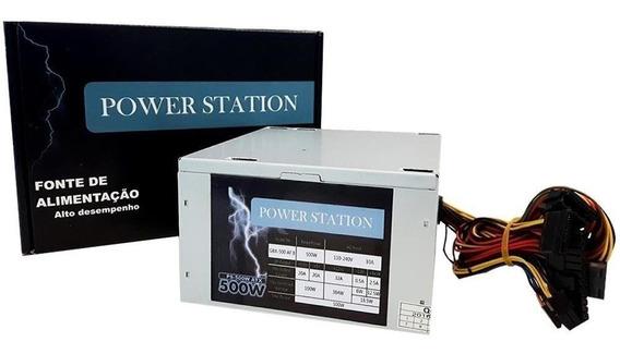 Fonte Power Station 500w - Ft500wps