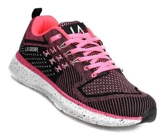 L.a Gear Zapatillas Stratos W Law05271 Negro/rosa Dep