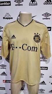Linda Camisa Bayern De Munique 2004 Dourada