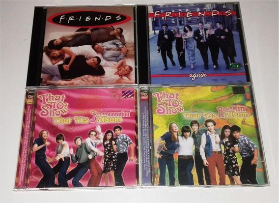 Lote 4 Trilhas Sonoras Das Séries Friends E That 70s Show