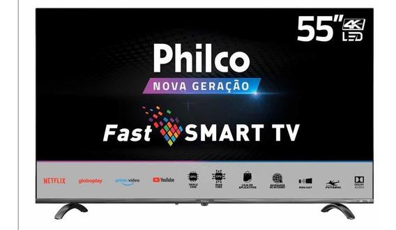 Smart Tv 4k Led 55 Philco Wifi Ptv55q20snbl