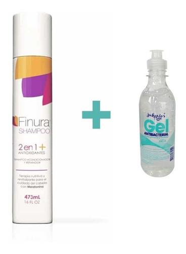 Shampoo 2 En 1 Finura Antioxidantech  473 Ml