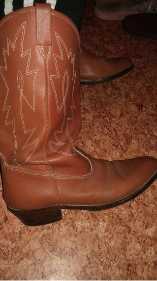 Botas Texanas De Cuero