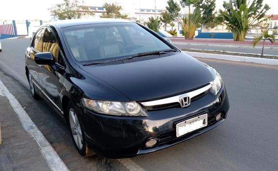 Honda Civic 2007 2008 Automático Com Central Multimídia