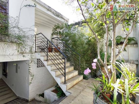 Casa Para Alugar, 480 M² Por R$ 9.000,00/mês - Vila Madalena - São Paulo/sp - Ca1563