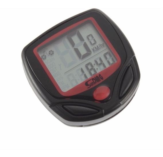 Cronômetro Digital De Bicicleta 14 Funções - Frete Reduzido