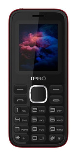 iPro A8 Dual SIM 32 MB Negro/Rojo 32 MB RAM