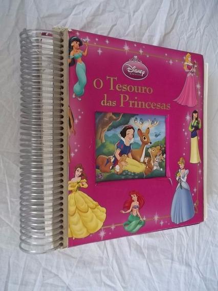 Livro - O Tesouro Das Princesas - Disney - Infanto Juvenil