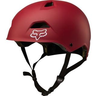 Capacete Fox Bike Flight Sport 18 Vermelho Rs1