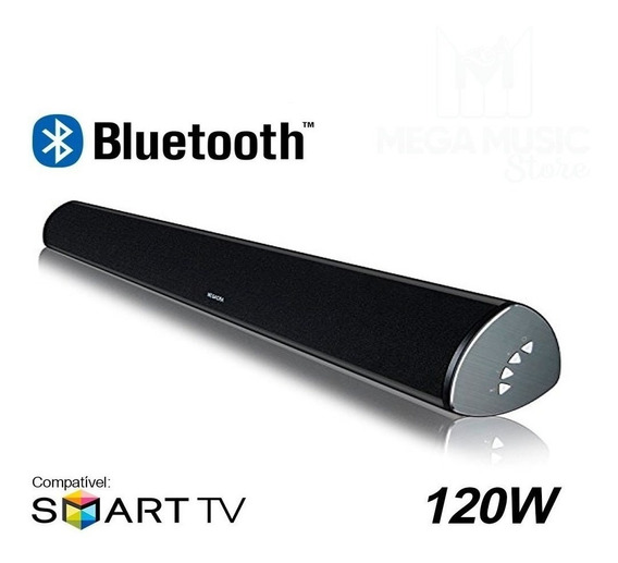 Caixa Som Soundbar Bluetooth Mts-2018 Tomate 120w