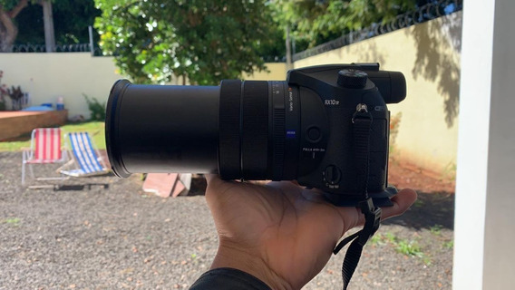 Câmera Sony Rx10 Iv Mark 4 Profissional Semi Nova