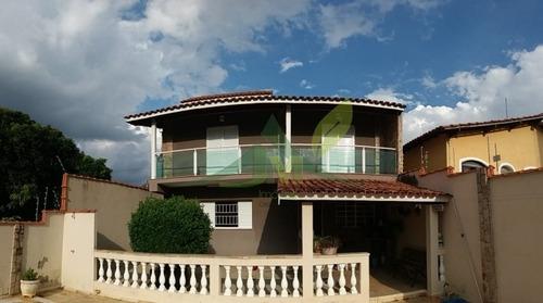 Bela Casa Em Atibaia Próximo A Alameda Lucas - 1085