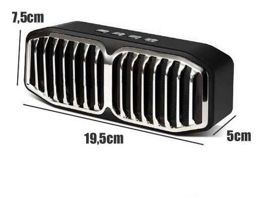 Caixa De Som Portátil Bluetooth Deluxe Infokit Vc-m260bt