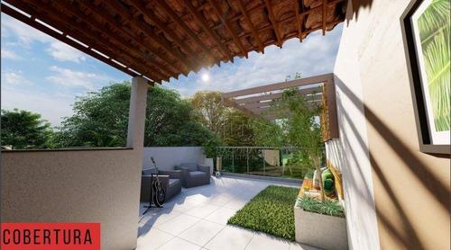 Cobertura Com 2 Dormitórios À Venda, 40 M² Por R$ 309.000,00 - Vila Humaitá - Santo André/sp - Co5451