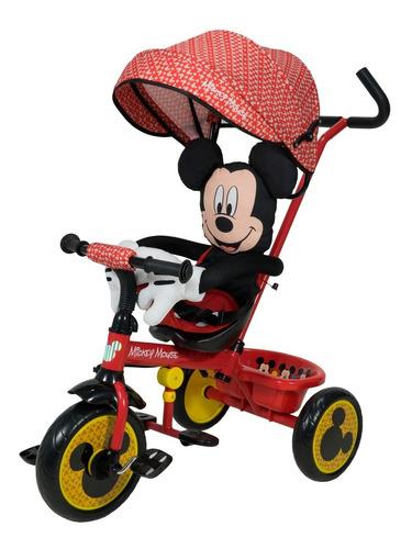 Triciclo Infantil Disney Mickey Minnie Xg-18819