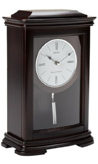 Repisa De La Chimenea De Seiko Con Reloj De Pendulo Caja De