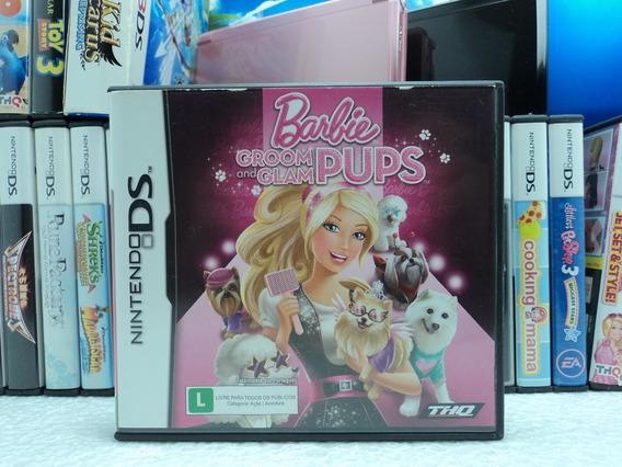 Barbie Groom And Glam Pups - Nintendo Ds -em 12x Sem Juros !