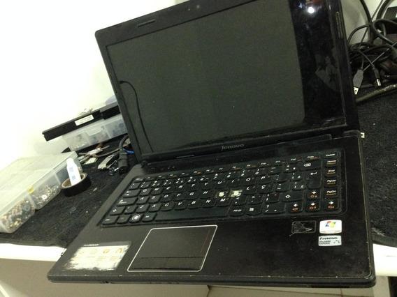 Notebook Lenovo I3, Funciona Com Alguns Detalhes