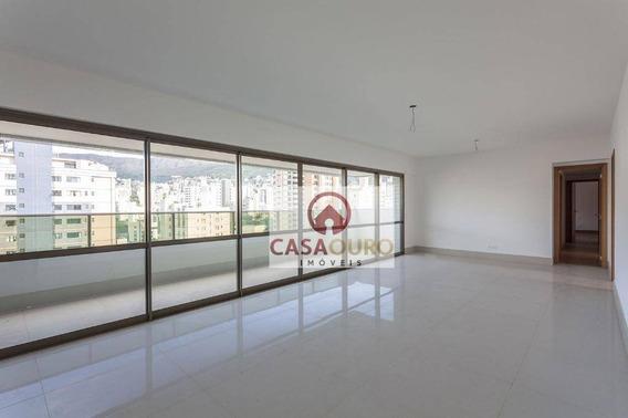 Apartamento Com 4 Quartos A Venda No Carmo Sion, Belo Horizonte. - Ap0907
