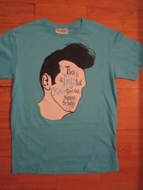 Morrisey.. There Is A Light Playera Blue
