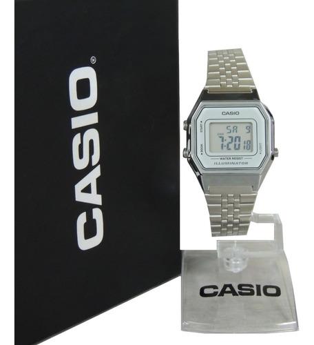 Relógio Casio Vintage Feminino La680wa-7df Nf Envios Full