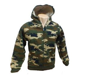Blusa Moleton Masculino Estampa Camuflada Com Capuz B5444