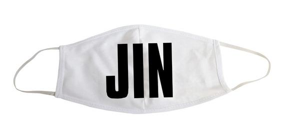 Barbijo Bts Jin - Cubreboca Unisex Kpop