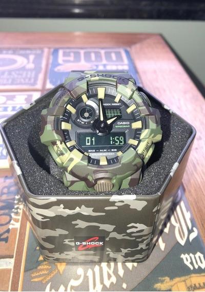Relógio Casio G-shock Ga 700 Camuflado