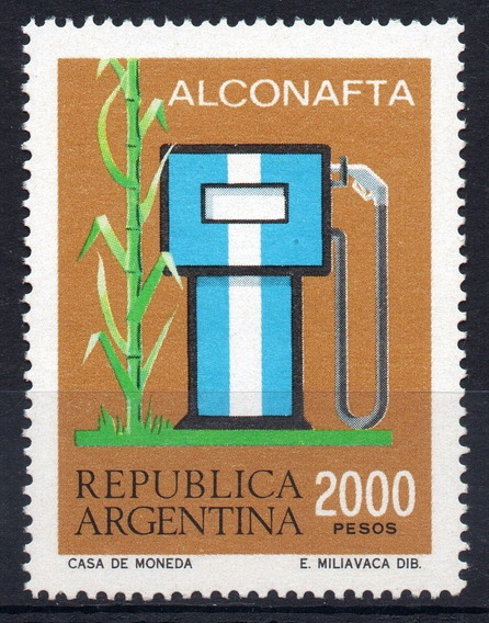 Argentina 1982 Gj 2047** Me 1354 Mint Alconafta Energía A