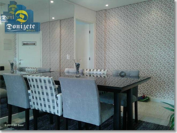 Apartamento Com 3 Dormitórios À Venda, 92 M² Por R$ 550.000,00 - Vila Assunção - Santo André/sp - Ap6291