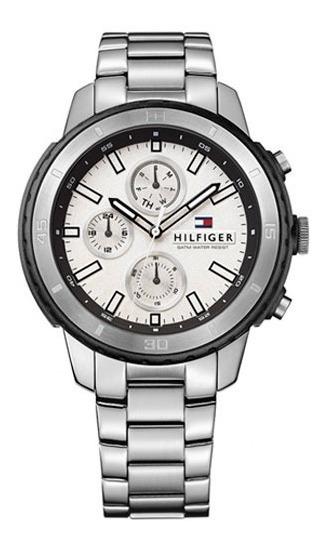 Relógio Masculino Tommy Hilfiger Aço Fundo Branco - 1791191