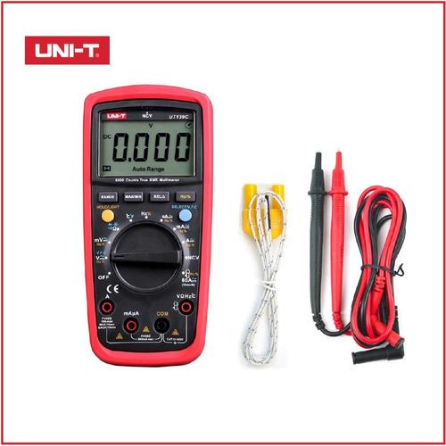Multitester Multimetro Uni-t Ut139c Auto Rango 600 V 10 Amp