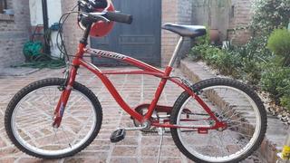 Bicicleta Playera Nene O Nena Rodado 20 Roja