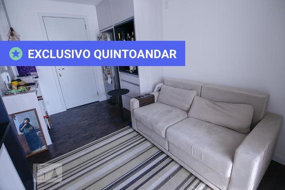 Studio No 17º Andar Com 1 Dormitório E 1 Garagem - Id: 892942070 - 242070