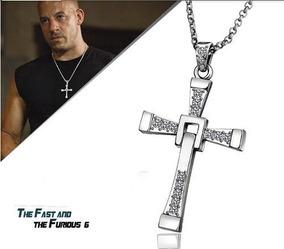 Colar Cordão Cruz Unissex Toretto Velozes E Furiosos
