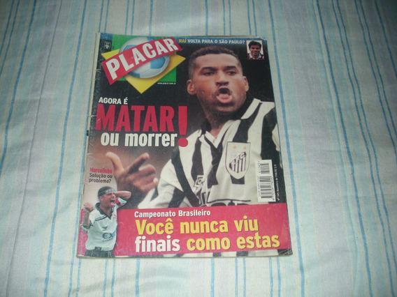 Revista Placar Nº 1145 - Novembro 1998 - Matar Ou Morrer