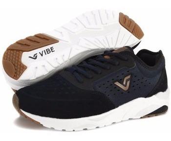 Tênis Sneaker Vibe Crew Azul Marinho Importado Original