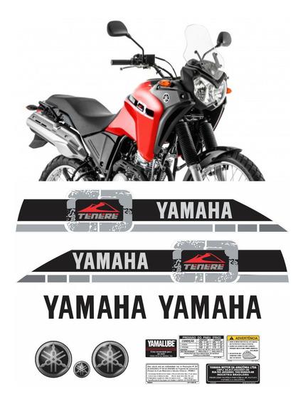 Kit Completo Adesivo Tenere 250 2015 Vermelha Tnr016 Fgc