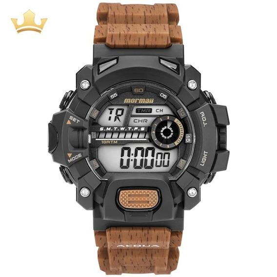 Relógio Mormaii Masculino Mo1132ah/8m Com Nf