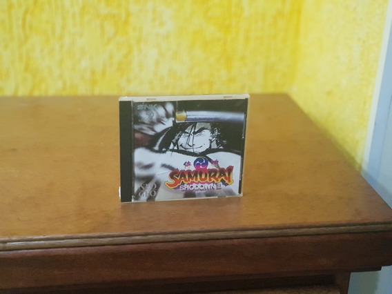 Samurai Shodown 3 Usado Original Manuais Usa Cx Original Neo