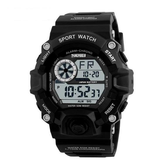 Relógio Masculino Skmei Digital 1019 - Preto
