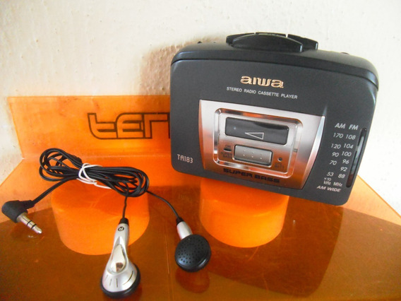 Antigo Walkman Aiwa Ta183 ( Toca Fita Precisa Revisão )