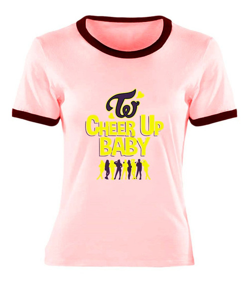 Remera Cheer Up Twice Kpop Ideal Regalo